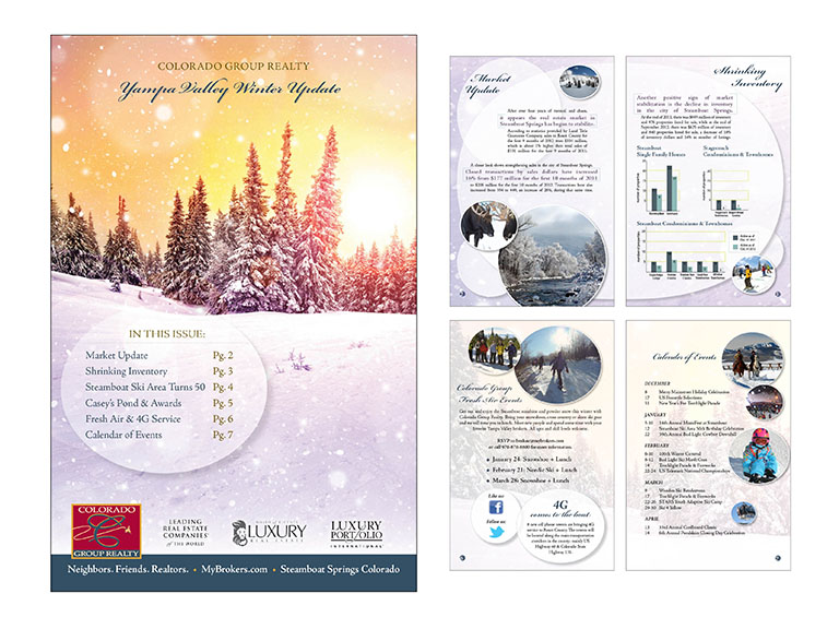 jmilo Creative Steamboat SpringsColorado Group realty cgr winter Newsletter