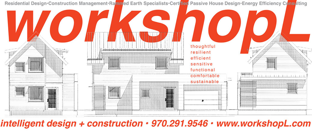 j.milo Creative Ad design for Workshop L Architecture, Design Build.